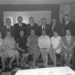 Rijkswacht: groepsfoto bij M. Denys, 1970