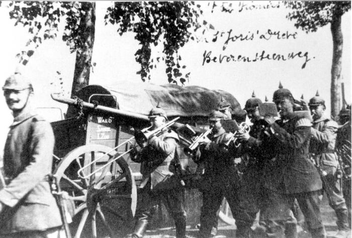 Duitse soldaten trekken naar oefenterrein