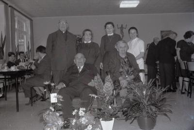 Diamanten bruiloft Camiel Vanhecke, Moorslede 1970