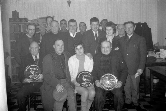 Duivenkampioen bij De Krasselaars (Duran), Moorslede 1970