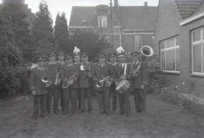 Harmonie viert St.-Cecilia, Moorslede 1970