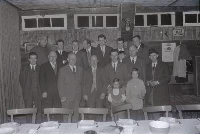 Huldiging duivenkampioen Jongerenverbond, Moorslede 1970