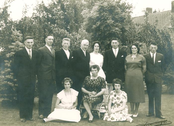 Huwelijk Juliana Verstraete, 1961
