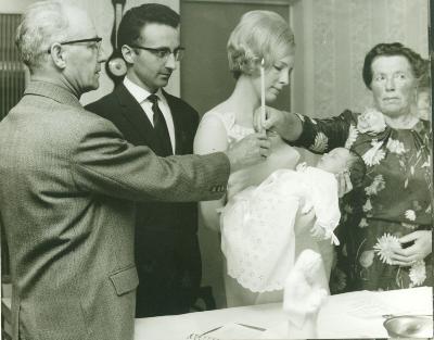 Doopsel Brecht Vermeulen, Roeselare, 1969