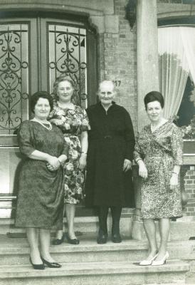 Familiefoto uit 1965