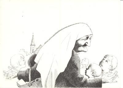 Bidprentje Moeder Ida, 1962