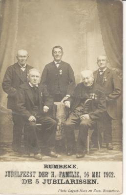 Jubelarissen H Familie, 1912