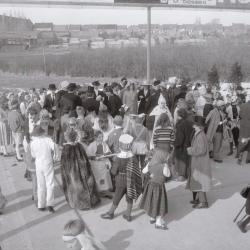 Chirojeugd viert carnaval, Moorslede 1970