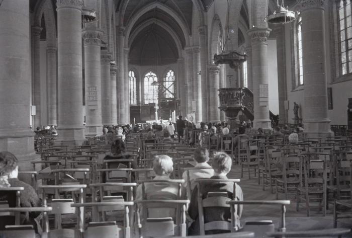 Begrafenis Johan Delaere, Moorslede 21 november 1970