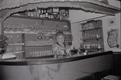 Godelieve Decru van café Uilenspiegel, Moorslede 1969-1970