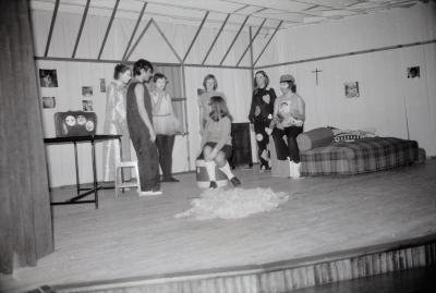 Viering 10 jaar Roodkapjes te Moorslede, 22 februari 1970
