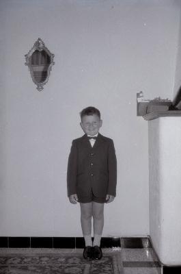 Eerste communie Guido Vandermeersch, Moorslede 1969