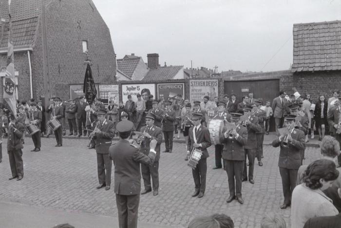 Viering 25 jaar harmonie, Slypskapelle 1969