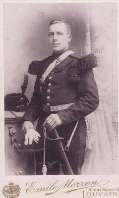 Portret Henri Vandamme