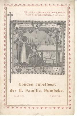 Gouden Jubelfeest der H. Familie, 1912