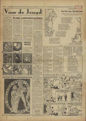 De Bond, 25 juli 1958