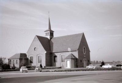 Kerk Vijfwegen, Staden 1969