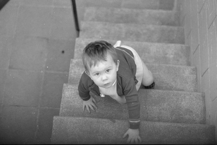 Ann (Vanrykeghem?) 2 jaar oud, Moorslede