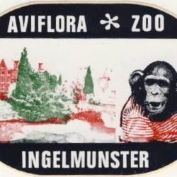Sticker Aviflora zoo, Ingelmuster