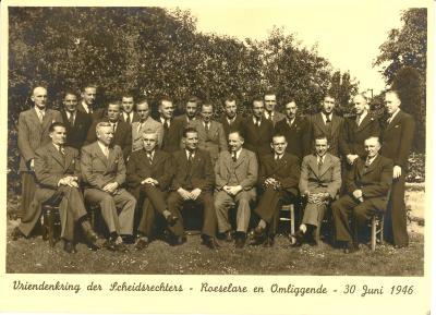 Vriendenkring der Scheidsrechters, 1946