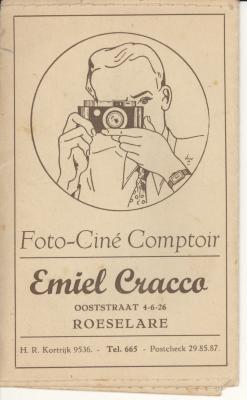Presentatiemappen fotograaf Emiel Cracco