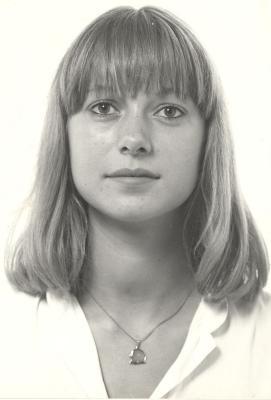Miss België Françoise Bostoen, 1983