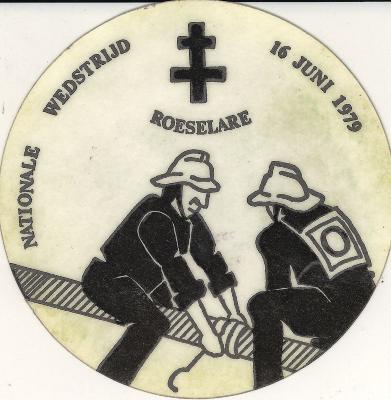 Stickers brandweer Roeselare