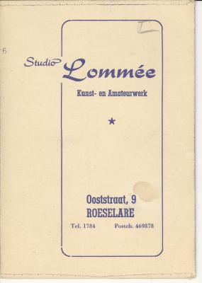 Presentatiemappen fotograaf Lommée