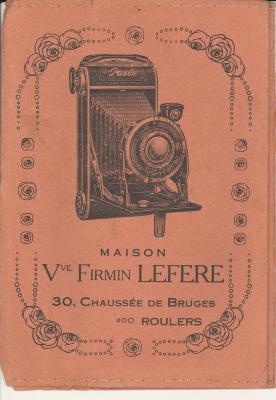 Presentatiemappen fotograaf Lefere - Lempire