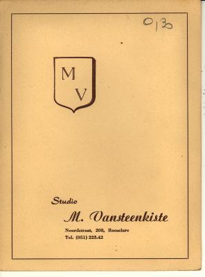 Presentatiemappen fotograaf Vansteenkiste