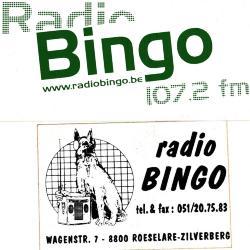 Promotiestickers radio Bingo