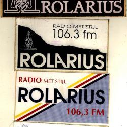 Promotiestickers radio Rolarius