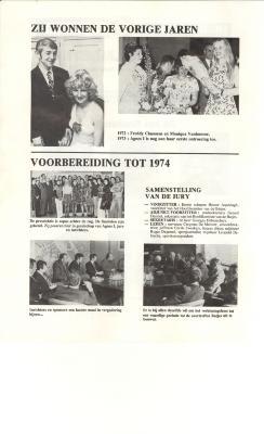Batjesprinsessen, Roeselare, 1974