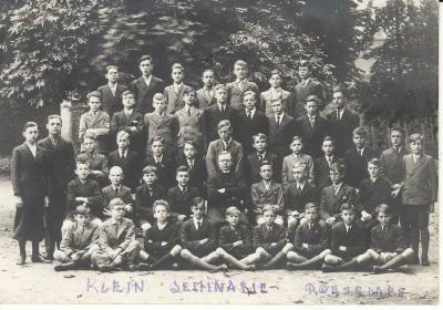 Klasfoto Klein Seminarie