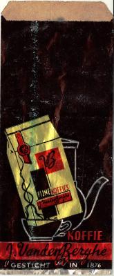 Verpakking koffie J. VandenBerghe Roeselare