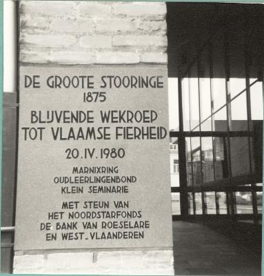 De Groote Stooringe 1875