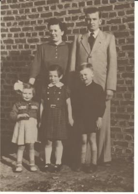 Familiefoto Edgard Vandenbroucke