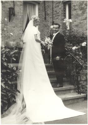 Trouwfoto, 1968
