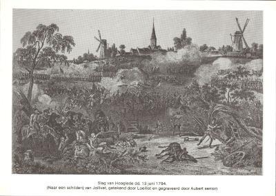 Slag van Hooglede, 13 juni 1794