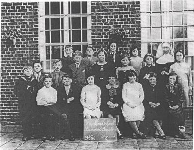 Schoolfoto Kapelhoekschool, 1936-1937(2)