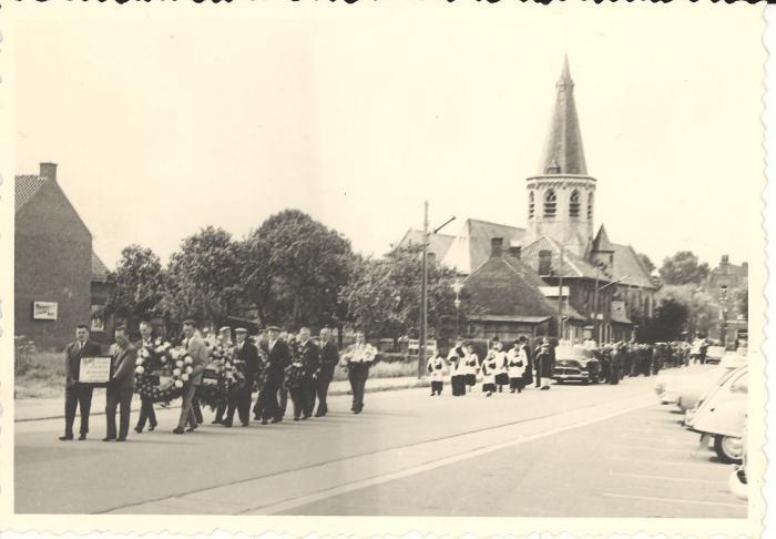 Begrafenis in Beveren, 1967