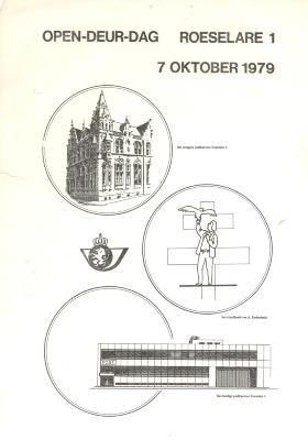 Open-deur-dag in postkantoor Roeselare, Roeselare, 7 oktober 1979