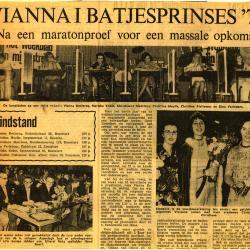 Vianna I Batjesprinses 1974