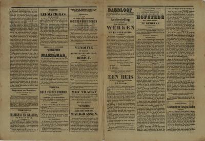 Roeselaars Nieuws- en advententieblad, Roeselare, 23 juni 1860