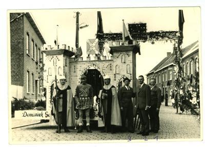 Inhuldiging burgemeester Vanbiervliet, Gits, juli 1965