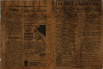 De Sint-Jansklok, Staden, 10 januari 1948