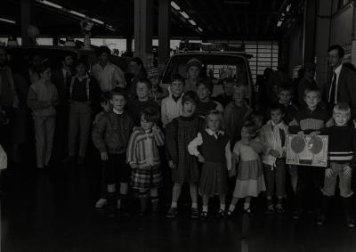 Groepsfoto jeugdprijskamp, +-1980