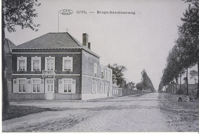 Brugschensteenweg, Gits