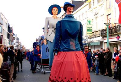Carnavalstoet, Roeselare, 2009