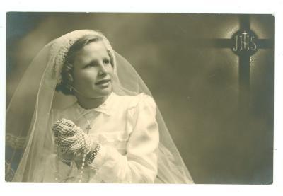 Plechtige Communie Margriet Flamée, 1952